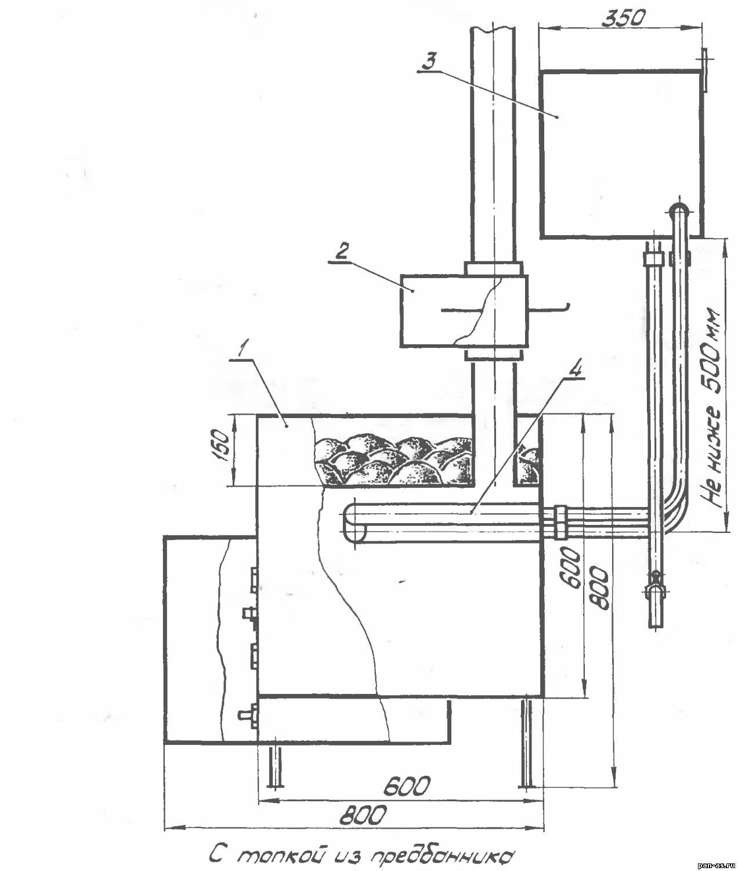 Как поставить теплообменник в самодельную железную печь теплообменник для отработавших газов двс