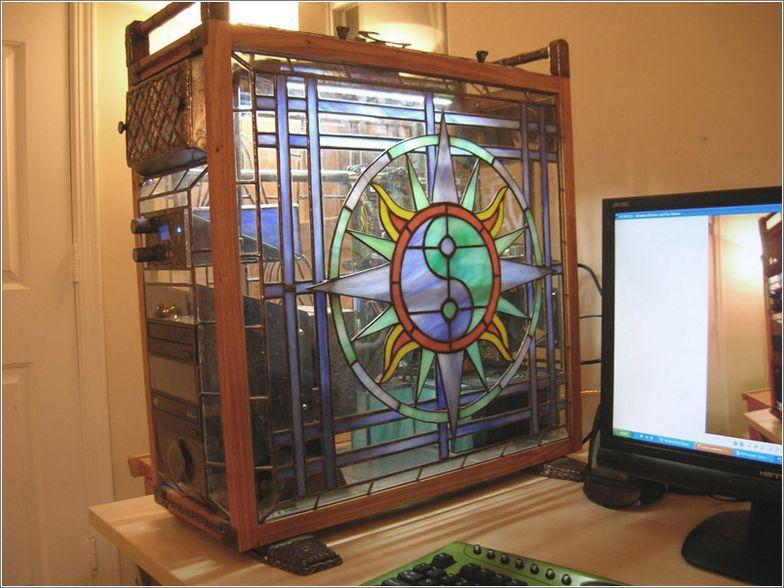 Компьютер из стекла своими руками