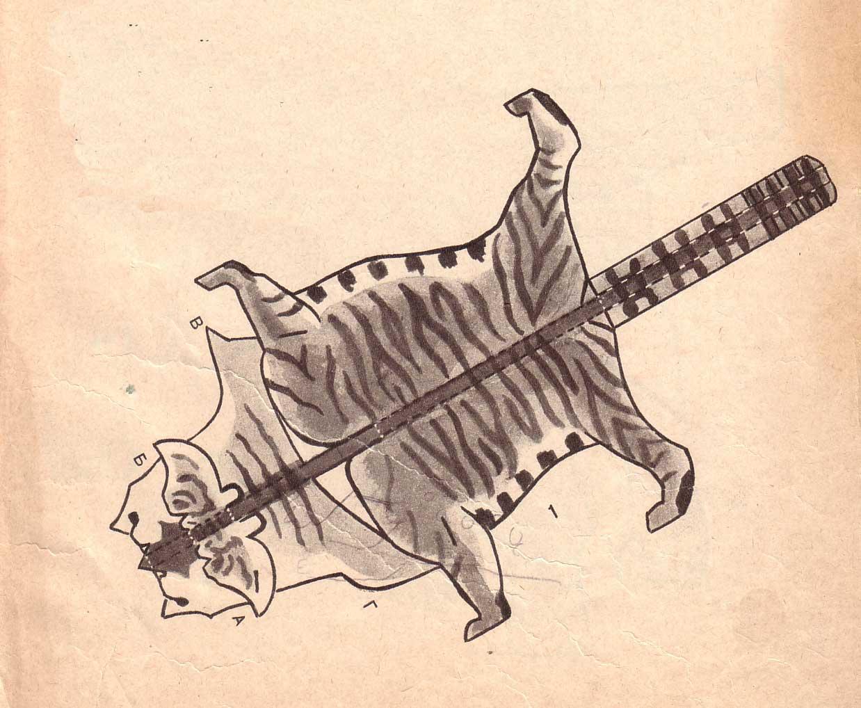 Как сделать тигра из бумаги своими руками? Вечные вопросы 54