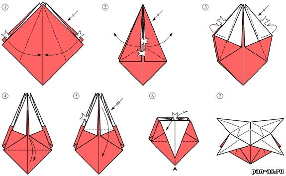 Оригами сделать своими руками начинающие